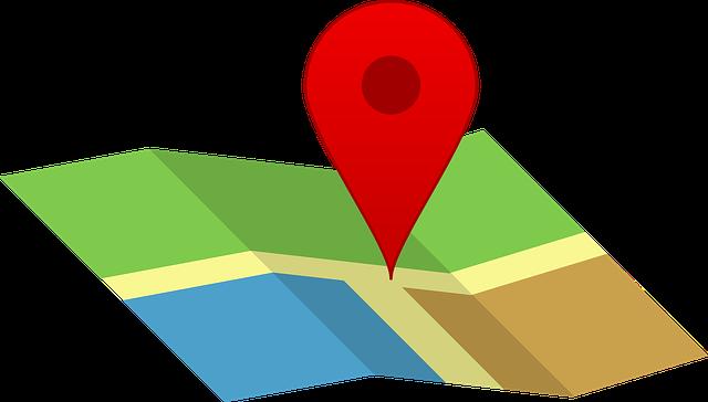 Karte-Pin